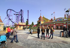 Sochi Park - theme park Stock Photos