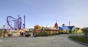 Sochi Park - theme park Stock Photography