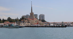 Sochi port Royalty Free Stock Photo