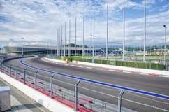 Sochi, Rússia - 14 de agosto de 2016: Parque olímpico fotos de stock royalty free