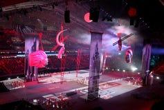 SOCHI, RÚSSIA - 7 DE FEVEREIRO DE 2014: imagem de Moscou do segunda Imagem de Stock Royalty Free