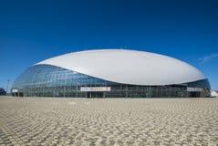 Sochi, Rússia - 6 de julho: Abóbada do gelo de Bolshoy o 6 de junho de 2016 em Sochi, Rússia para jogos do coro do mundo Imagem de Stock