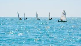 Sochi regatta in the Olympic classes Stock Photo