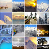 Sochi region landscapea. Stock Photography