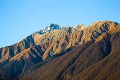 Sochi Rosa Khutor Góry Obrazy Stock