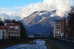 Sochi Rosa Khutor Krasnaya Polyana Stock Photo