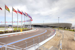 Sochi. Route of Formula I Royalty Free Stock Photography