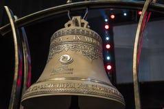 Sochi, Rusia - 6 de julio: Bóveda del hielo de Bolshoy el 6 de junio de 2016 en campana oficial de Sochi, Rusia para los juegos d Fotos de archivo libres de regalías