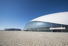 Sochi, Rusia - 6 de julio: Bóveda del hielo de Bolshoy el 6 de junio de 2016 en Sochi, Rusia para los juegos del coro del mundo Fotografía de archivo