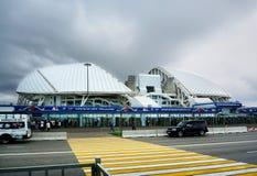 Sochi, Rusia - 31 de mayo de 2017: Parque olímpico y estadio de Fisht para los juegos de olimpiada de invierno 2014 Estadio de fú Fotos de archivo