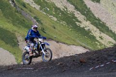 SOCHI, RUSSIA – AUGUST 16, 2014: Off-road Royalty Free Stock Photos