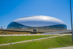 Sochi, Russia - July 6: Bolshoy Ice Dome in Olympic Park Royalty Free Stock Photo