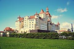 SOCHI, RUSSIA - MAY 21, 2017: Hotel Bogatyr near Sochi Olympic P Stock Photo