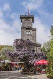 SOCHI, RUSSLAND, AM 10. MAI 2015: Akhun-Turm-Beobachtungs-Standort Lizenzfreie Stockfotografie