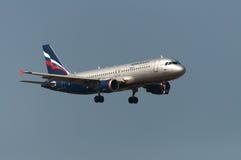 Düsenflugzeug Airbusses A320 Stockfoto