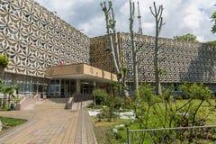 Sochi RYSSLAND - Maj 21, 2017: Sochi högskola av konst Royaltyfri Foto
