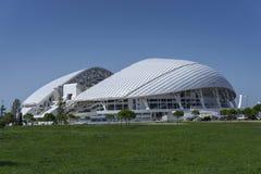 Sochi Ryssland - September 11, 2017: Stadion Fisht Arkivfoton