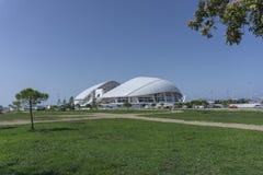 Sochi Ryssland - September 11, 2017: Stadion Fisht Royaltyfri Bild