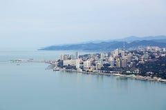 Sochi sea trade port Stock Images