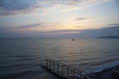 Sochi seacoast Stock Photos