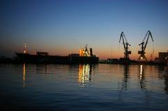 Sochi-Seehafen Stockbilder
