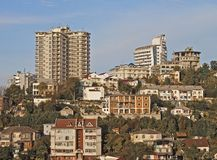 Sochi skyline Royalty Free Stock Photo