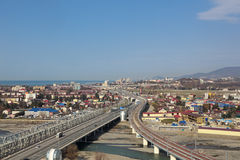 Sochi-Stadtbild Stockfoto