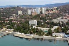 Sochi-Stadtbild Lizenzfreies Stockbild