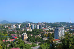 Sochi top view Stock Image