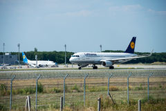 Société aéronautique Lufthansa Photographie stock libre de droits