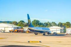 Société de coût bas de Ryanair Photographie stock