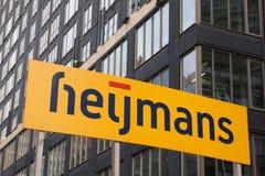 Société de contruction de Heijmans Photos stock
