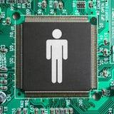 Société de Cyber images stock