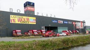 société de location de BO-loyer aux Pays-Bas photographie stock