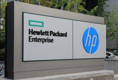 Société informatique de HP Hewlett Packard Image libre de droits