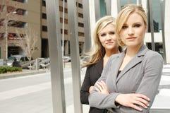 Soci della donna di affari Immagine Stock Libera da Diritti