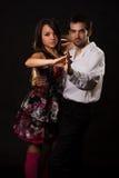 Soci di ballo fotografia stock libera da diritti