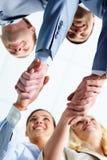 Soci di Handshaking Immagini Stock