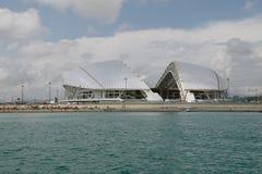 SOCI, RUSSIA, IL 30 GIUGNO 2016: Stadio di Fisht Immagine Stock