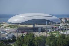 Soci, Russia - 11 settembre: Cupola del ghiaccio di Bolshoy l'11 settembre 2017 Immagini Stock Libere da Diritti