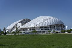 Soci, Russia - 11 settembre 2017: Stadio Fisht Fotografie Stock