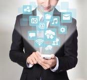 Sociaal media concept royalty-vrije stock afbeelding