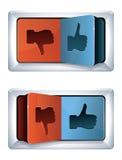 Sociaal media Internet concept Stock Afbeelding