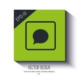 sociaal media pictogramontwerp, grafische illustratie eps10 Stock Afbeelding