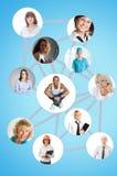 Sociaal netwerk royalty-vrije stock foto's