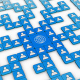 Sociaal Netwerk Royalty-vrije Stock Fotografie