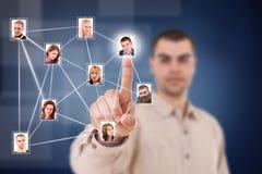 Sociaal netwerk stock fotografie