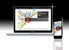 Sociaal netwerk Google plus Royalty-vrije Stock Foto's