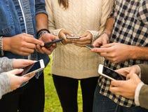 Sociaal Netwerk maar niet zo sociaal royalty-vrije stock afbeelding