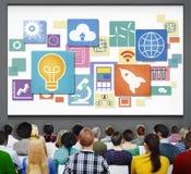 Sociaal Netwerk Sociaal Media het Web Online Concept van Internet WWW Royalty-vrije Stock Afbeeldingen